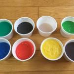 カラフルスライムの作り方 ホウ砂なし洗濯のりで簡単にできた!動画あり